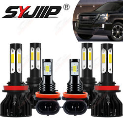 For Gmc Terrain 2010-15 6x 450w Combo Led Headlight Hi/low Beamandfog Light 8000k