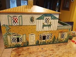 Huge Ideal Petite Princess Dollhouse Furniture And Doll Houses Lot 1964