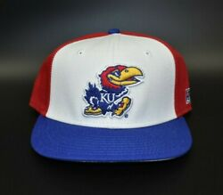 Kansas Jayhawks Ncaa The Game Pro Vintage Fitted Cap Hat - Size 7 1/2