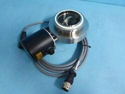Vat 61138-xe52-aaa1 Vacuum Valve Nw80 /w Cable
