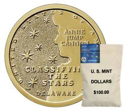 P D 100 Us Mint Bags 2019 Delaware American Innovation Dollars Mint 200 Face