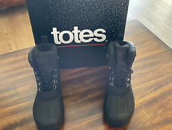 """""""NEW"""" MENS TOTES WATERPROOF ICECAP BOOTS SIZE 9 $25.50"""