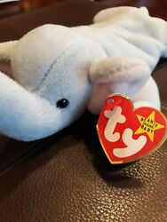 Extremely Rare Vintage Peanut Style 4062 Beanie Baby