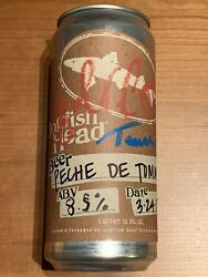 Dogfish Head Sam Calagione And Tomme Arthur Autograhped Crowler Rare Original