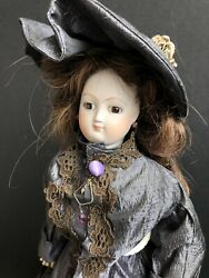"""Vintage 16"""" French Reproduction ? Antique Bisque French Fashion Doll"""