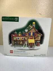 Department 56 Lego Building Creation Station North Pole Series 56.56735