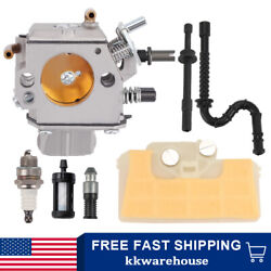 Ms290 Carburetor Air Filter Tune Up Kit Fits Stihl Ms310 Ms390 029 039 Chainsaw
