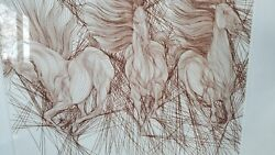 Guillaume Azoulay Andante Etching Hand Signed Limited Edition Last One