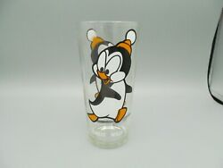 Vintage Pepsi Walter Lantz Drinking Glass – Chilly Willy From Woody Woodpecker