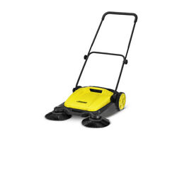Karcher S 650 Manual Push Sweeper W/2 Brushes 1.766-303.4