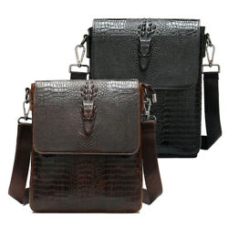 Genuine Leather Business Shoulder Bag for Men Hiking Crossbody Bag Satchel TOTE $59.90