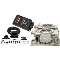 Fitech Fuel Injection System Kit 93161 Go Efi 2x4/in-line Pump/go Spark 650 Hp