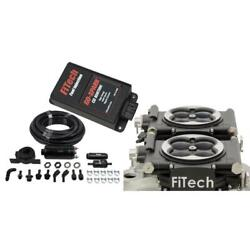 Fitech Fuel Injection System Kit 93162 Go Efi 2x4/in-line Pump/go Spark 650 Hp