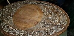 Antique Anglo Indian Motif Elephant Coffee Table