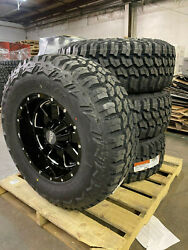 18x10 Moto Metal Mo962 35 Mt Wheel And Tire Package 8x6.5 Ram 2500 3500 W/tpms