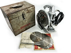Porter Cable Circular Saw Model 508 + Case | Made In Usa | Vintage 1950's