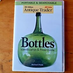 Collectible Bottles Identification And Price Guide Cd+case Polak 2008 Pc Or Mac