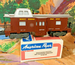 American Flyer Southern Pacific Lited Bay Window Caboosemint In Box 59.95