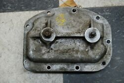 Original T10 Side Cover With Shift Shafts Dated 04/09/1963