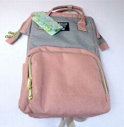 Diaper Bag Backpack Waterproof Large Capacity Stylish and Durable Baby Bags New $23.39