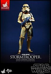 [movie Masterpiece Star Wars 16 Scale Figure Storm Trooper Gold Chrome Versio
