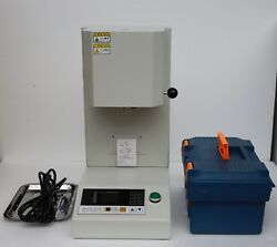 Automatic Melt Flow Index Rate Tester Touch Screen Display Equipped With Printer