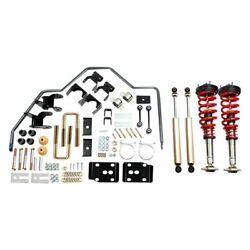 For Ford F-150 15-20 Belltech 1-3 X 4 Front And Rear Handling Plus Lowering Kit