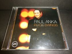 Rock Swings By Paul Anka-rare Collectible Cd W/ Tears In Heaven True And More-cd