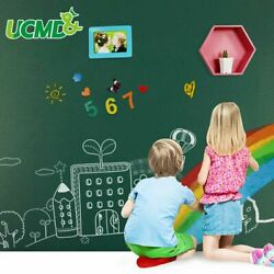 18x80 GREENBOARD Removable Wall Sticker Decal Kid Home School Remote Learn Chalk