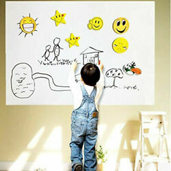 18x80 WHITEBOARD Removable Wall Sticker Decal Kid Home School Remote Learn Chalk