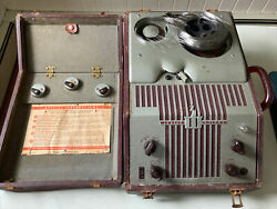 Vintage 1948 Webster Chicago Model 80-1 Wire Recorder As Is For Parts