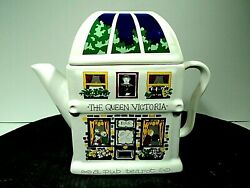 Wade English Life Teapots Queen Victoria Vtg Made In England Near Mint