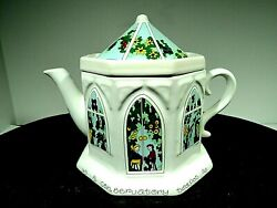 Wade English Life Teapots A Conservatory Vtg Made In England Mint