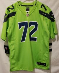 Nike Michael Bennett Seattle Seahawks Nfl Color Rush Green Jersey Youth X-large