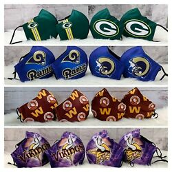 Nfl Football Face Mask - 4 For 18 Special