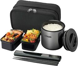 Tiger Thermos Bottle Warming Lunch Box Stainless Steel Lunch Jar Bowl Cup Japan