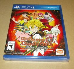 Seven Deadly Sins Knights Of Britannia Playstation 4 Brand New Fast Shipping