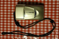 Olympus Stylus Zoom 105 35mm Point And Shoot Film Camera All Weather With Lanyard