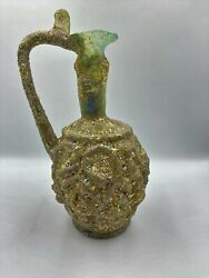 Old Antique Roman Perfume Glass Bottle Jar From Ancient Romans Antiquities