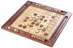 New Hand Made Aaa Grade Wooden Othello Reversi Board Game