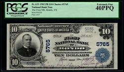 1902 10 The First National Bank Of Hondo Texas Pcgs 40 Ppq Fr.633 Ch5765 Rare