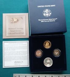 2004 Westward Journey Nickel Series Coin And Medal Set 1043