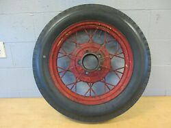 Wire Wheel 19 Model A Ford 5 On 5 1/2 Bolt Circle Antique Bedford Tire