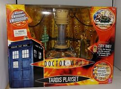 Doctor Who - 10th Doctor Tardis Console Room Electronic Playset Boxandnbsp