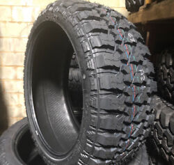 4 New 33x14.50r22 Lrf Fury Off Road Country Hunter M/t Mud Tires 33 14.50 22 R22