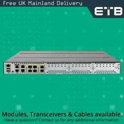 Cisco Isr4431/k9 Integrated Services Router W/ 4gb Ram 8gb Flash