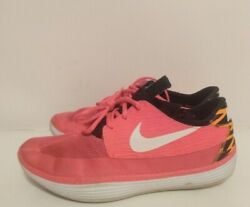 Menand039s Nike Solarsoft Mocasin Casual/athletic Pink/black 555301-618 Size 9