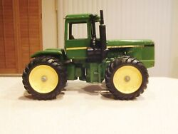 John Deere Heavily Used Solid Die Cast Toy Tractor With No Broken Parts In Good