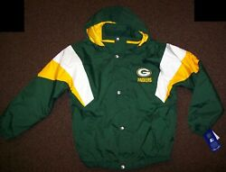 Green Bay Packers Starter Hooded Jacket 2020 S M L Xl 2x