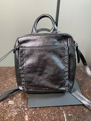 New The Sak Loyala Convertible Backpack LEATHER NWT MSRP $139 $61.95